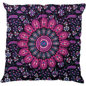 Ethnic Cotton Mandala Pillow Case Indian Decorative Sofa Cushion Cover