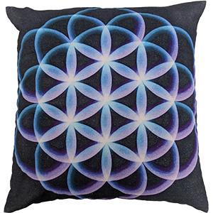 Multicolour Digital Cotton 16″ × 16″ Pillow