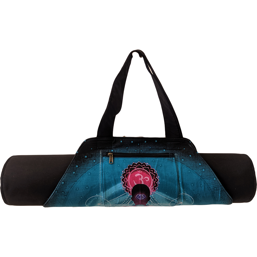 Hexagon Yoga Mat Bag – Cotton – Professional Studio Quality (EASY SANITIZATION)