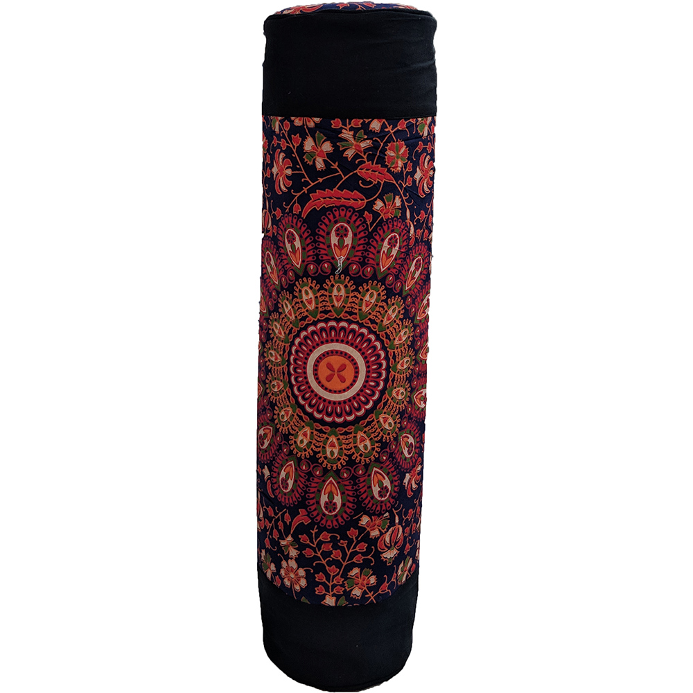 Ethnic Mandala Yoga Cotton Bolster Yoga Mat Bag