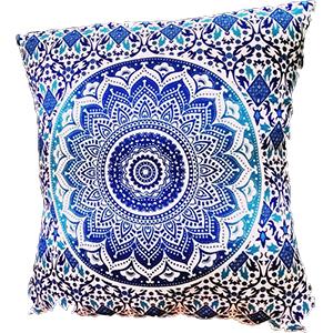 Ombre Mandala Pillow Case