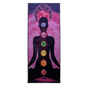 Yoga Man Chakra Purple