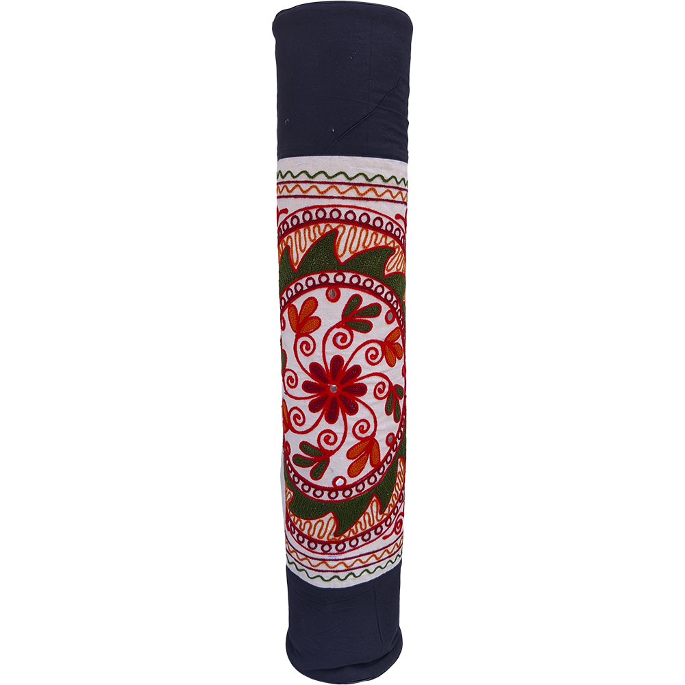 Chakra Embroidered Yoga Mat Bag – Cotton – Professional Studio Quality (EASY SANITIZATION)